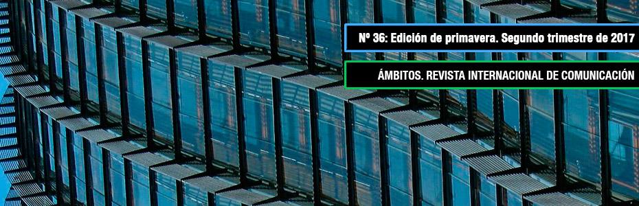 Ámbitos. Revista Internacional de Comunicación. N36