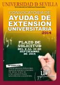 Cartel Ayudas Extension Universitaria
